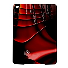 Red Black Fractal Mathematics Abstract iPad Air 2 Hardshell Cases