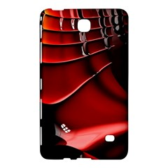 Red Black Fractal Mathematics Abstract Samsung Galaxy Tab 4 (8 ) Hardshell Case