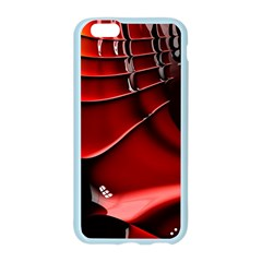 Red Black Fractal Mathematics Abstract Apple Seamless iPhone 6/6S Case (Color)