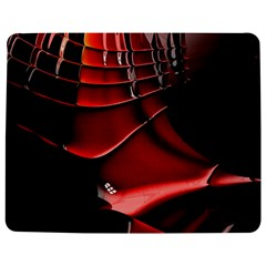 Red Black Fractal Mathematics Abstract Jigsaw Puzzle Photo Stand (rectangular)
