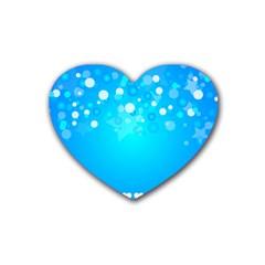 Desktop Banner Postcard Hearts Heart Coaster (4 Pack)