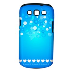 Desktop Banner Postcard Hearts Samsung Galaxy S Iii Classic Hardshell Case (pc+silicone)