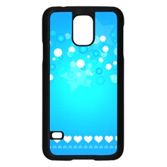 Desktop Banner Postcard Hearts Samsung Galaxy S5 Case (black)