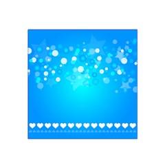 Desktop Banner Postcard Hearts Satin Bandana Scarf