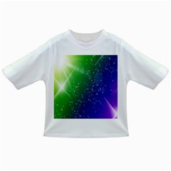 Shiny Sparkles Star Space Purple Blue Green Infant/toddler T Shirts