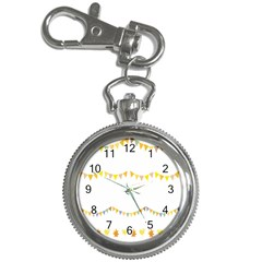 Season Flower Floral Spring Key Chain Watches