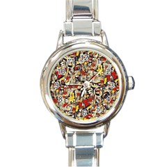 My Fantasy World 38 Round Italian Charm Watch