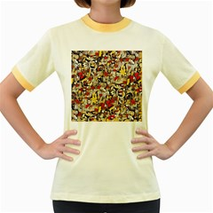 My Fantasy World 38 Women s Fitted Ringer T-Shirts