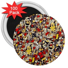 My Fantasy World 38 3  Magnets (100 pack)