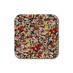 My Fantasy World 38 Rubber Coaster (Square)