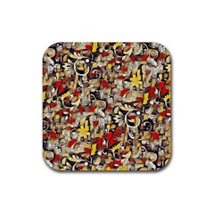 My Fantasy World 38 Rubber Square Coaster (4 pack)