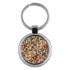 My Fantasy World 38 Key Chains (Round)