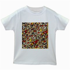 My Fantasy World 38 Kids White T-Shirts