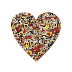 My Fantasy World 38 Heart Magnet