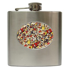 My Fantasy World 38 Hip Flask (6 oz)