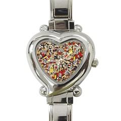 My Fantasy World 38 Heart Italian Charm Watch
