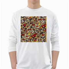 My Fantasy World 38 White Long Sleeve T-Shirts
