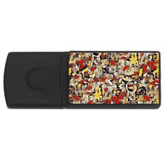 My Fantasy World 38 USB Flash Drive Rectangular (4 GB)
