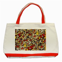 My Fantasy World 38 Classic Tote Bag (Red)