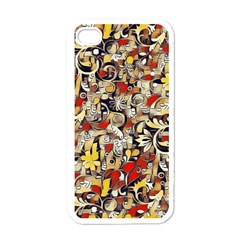 My Fantasy World 38 Apple iPhone 4 Case (White)