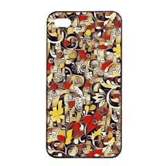 My Fantasy World 38 Apple iPhone 4/4s Seamless Case (Black)