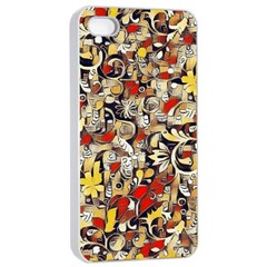 My Fantasy World 38 Apple iPhone 4/4s Seamless Case (White)