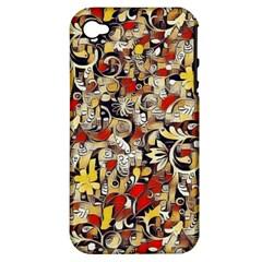 My Fantasy World 38 Apple iPhone 4/4S Hardshell Case (PC+Silicone)