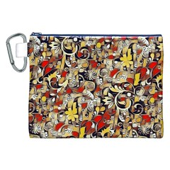 My Fantasy World 38 Canvas Cosmetic Bag (XXL)