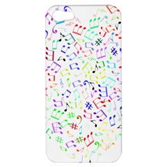 Prismatic Musical Heart Love Notes Rainbow Apple Iphone 5 Hardshell Case