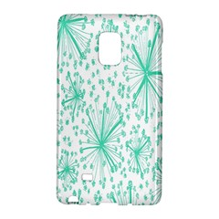 Spring Floral Green Flower Galaxy Note Edge