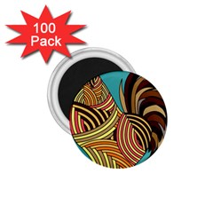 Rooster Poultry Animal Farm 1 75  Magnets (100 Pack)