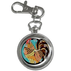 Rooster Poultry Animal Farm Key Chain Watches