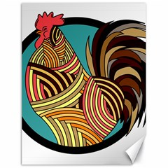 Rooster Poultry Animal Farm Canvas 18  X 24