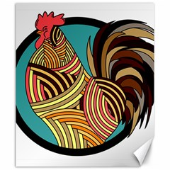Rooster Poultry Animal Farm Canvas 20  X 24