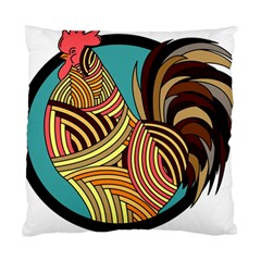 Rooster Poultry Animal Farm Standard Cushion Case (one Side)