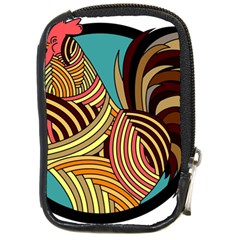 Rooster Poultry Animal Farm Compact Camera Cases
