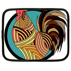 Rooster Poultry Animal Farm Netbook Case (XXL)
