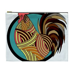 Rooster Poultry Animal Farm Cosmetic Bag (xl)