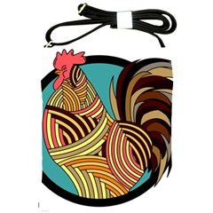 Rooster Poultry Animal Farm Shoulder Sling Bags