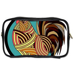 Rooster Poultry Animal Farm Toiletries Bags