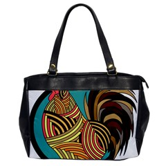 Rooster Poultry Animal Farm Office Handbags