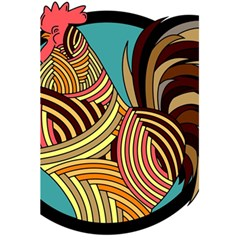 Rooster Poultry Animal Farm 5 5  X 8 5  Notebooks