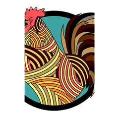Rooster Poultry Animal Farm Shower Curtain 48  X 72  (small)