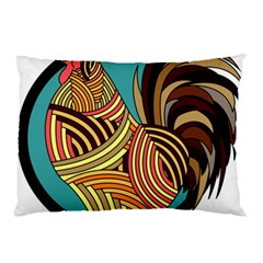 Rooster Poultry Animal Farm Pillow Case (two Sides)