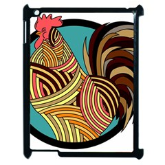 Rooster Poultry Animal Farm Apple Ipad 2 Case (black)