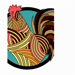 Rooster Poultry Animal Farm Small Garden Flag (two Sides)