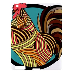 Rooster Poultry Animal Farm Apple Ipad 3/4 Hardshell Case