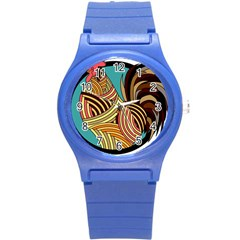 Rooster Poultry Animal Farm Round Plastic Sport Watch (s)
