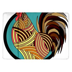 Rooster Poultry Animal Farm Samsung Galaxy Tab 10 1  P7500 Flip Case