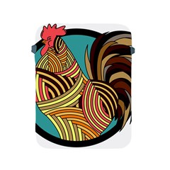 Rooster Poultry Animal Farm Apple Ipad 2/3/4 Protective Soft Cases